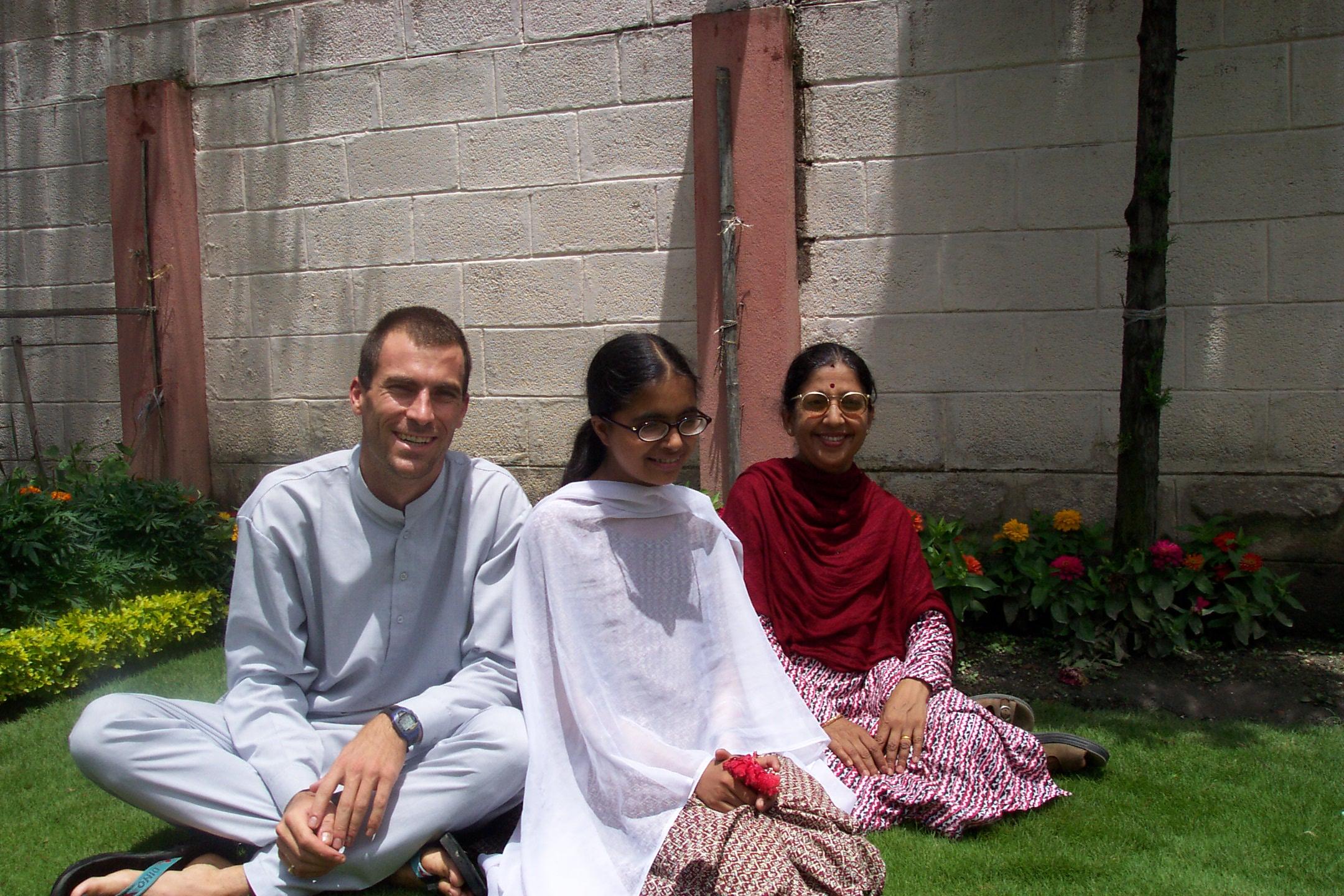 Trevor, Bindhaya and Usha