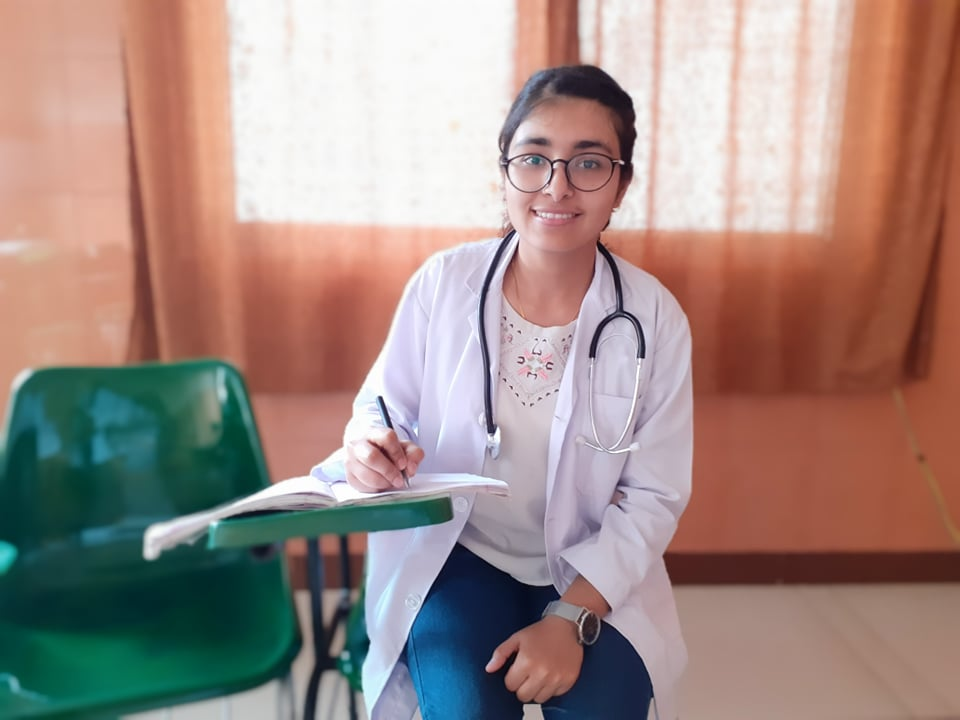 Suja pandit( pursuing MBBS is ready to take history of patient copy