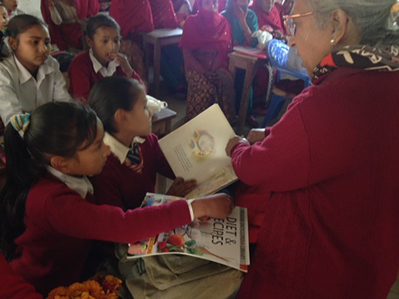 Mobile libraries for Little Sisters Fund