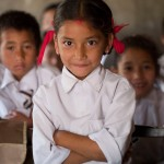 Girls in Nepal