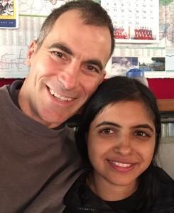 Trevor and Bindhaya